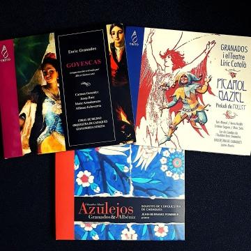 OFERTA: Lote 3 CD de Granados