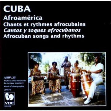 CUBA-Chants et rythmes afrocubains
