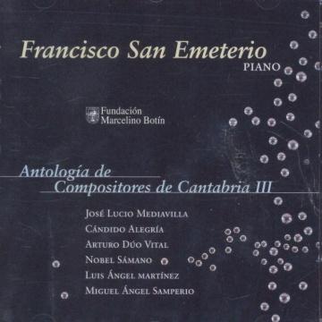 Antología de compositores de Cantabria III