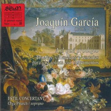 El patrimonio musical hispano nº 20:<i>Ay! qué prodigio!</i> Tonadas, villancicos y cantadas para voz solista con instrumentos