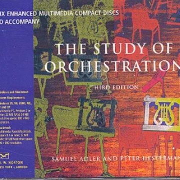 The Study of Orchestration (3rd Edition) (Audio CD)
