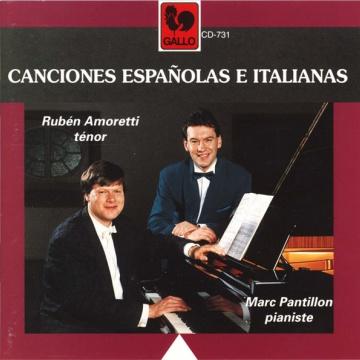 Canciones Españolas e Italianas