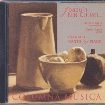 Joaquín Nin-Culmell: Works for Voice and Piano