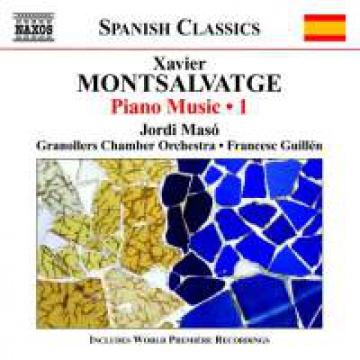 Montsalvatge. Obra para piano vol. 1