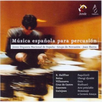 Música espanyola per a percussió