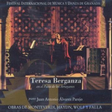 Teresa Berganza. Festival Internacional de Música y Danza de Granada vol. 7