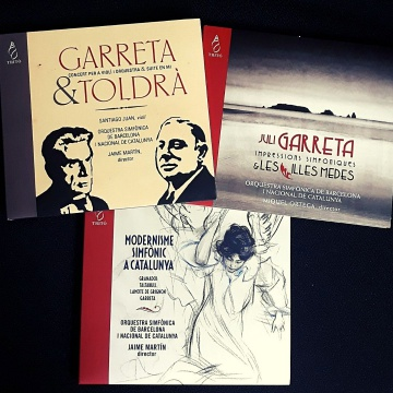 OFFER: Pack 3 Garreta CD