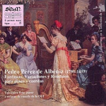 El patrimonio musical hispano 15: Fantasías, variaciones y rondinos