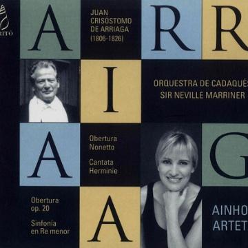 ARRIAGA-Orquestra de Cadaqués-Ainhoa Arteta
