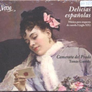 Delicias españolas-Música para orquesta de cuerda