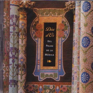 Disc d'or del Palau de la Música Catalana (90 ANIVERSARI)
