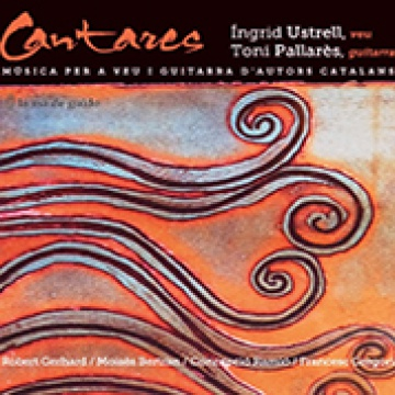 Cantares. Música para voz y guitarra de autores catalanes