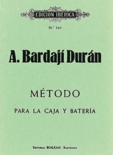 Método para la caja y batería, de Antonio Bardají