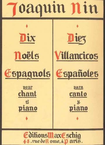 Dix Noels espagnols