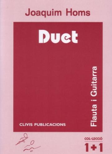 Duet, per a flauta i guitarra