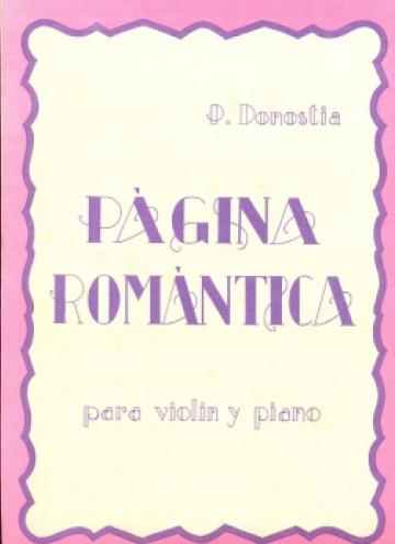 Página romántica