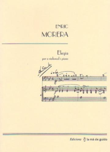 Elegia, para violonchelo y piano