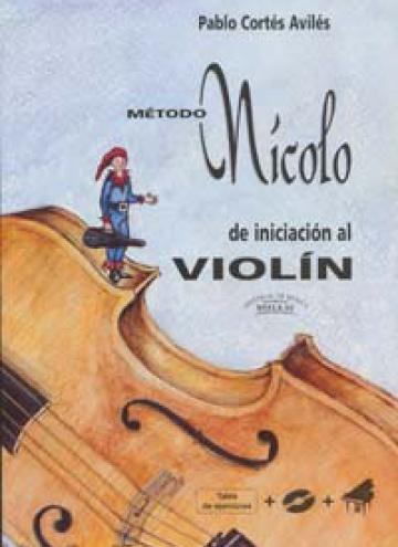 Nícolo. Iniciació al Violí + CD + Acomp. Pno. + Plantilla, de Pablo Cortés