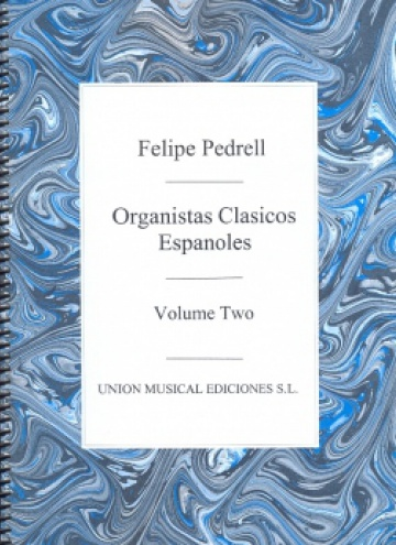 Anthology of Spanish Classic Organists, vol. 2