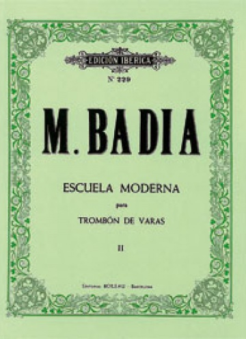 Escuela Moderna para tombón de varas vol. II, de Miguel Badia