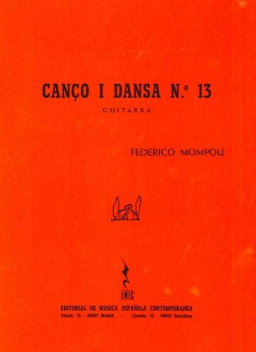 Cançó i dansa núm. 13