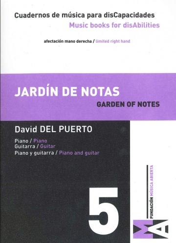 Cuadernos de Música para discapacidades vol 5 - Garden of notes