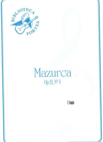 Mazurka op.33 nº4