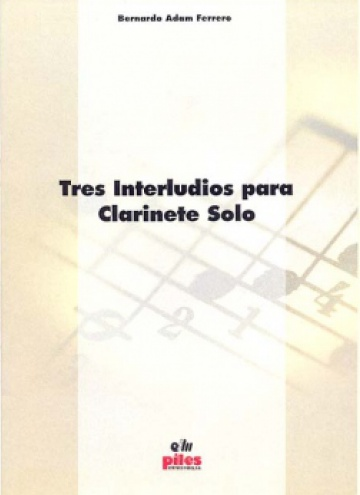 Tres interludis per a clarinet sol