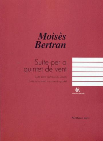 Suite for a wind instruments quintet