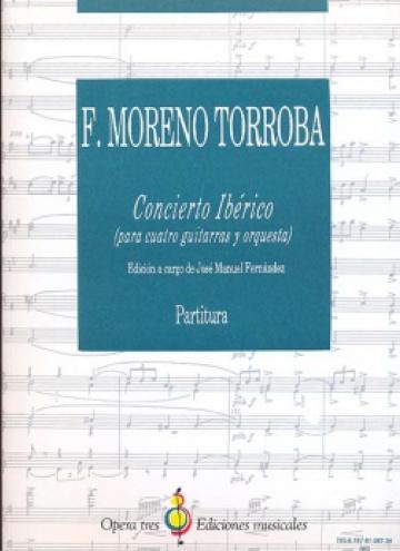 Concierto Ibérico para 4 guitarras y orquesta