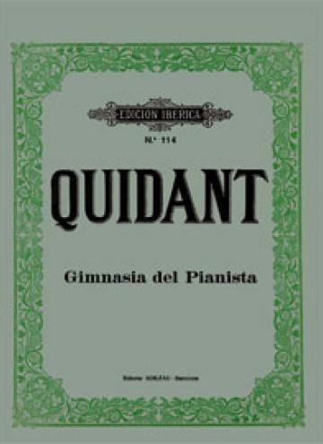 Gimnasia del pianista, de Alfredo Quidant