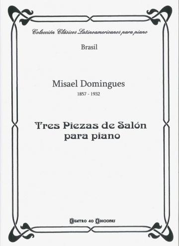 Tres piezas de salón para piano