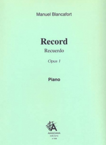 Record, op. 1