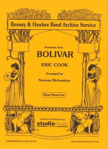 Bolivar. Trombone solo (partitura y partes)