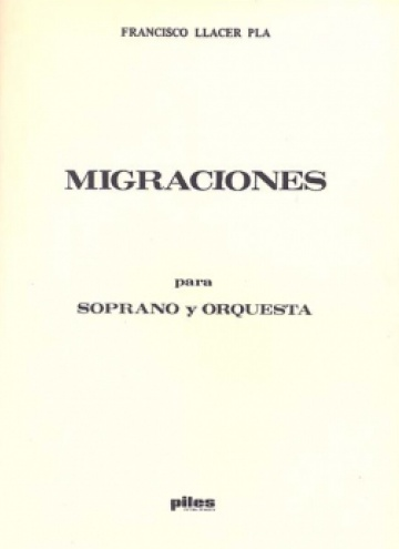Migraciones, for soprano and orchestra