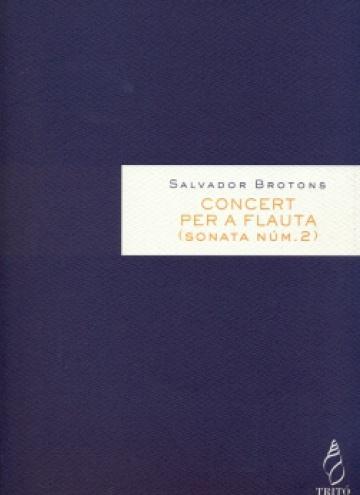 Concert per a flauta i orquestra, op. 72 (Sonata núm.2)