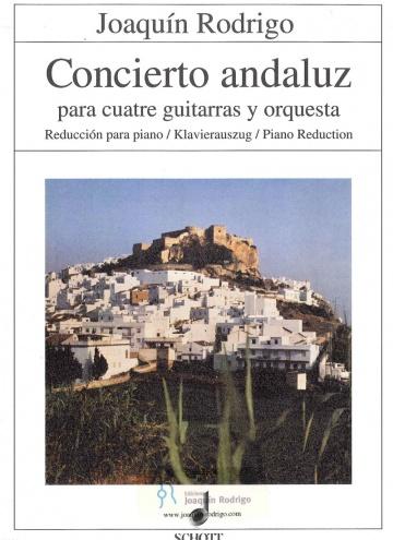 Concierto Andaluz 4 guitarras y piano