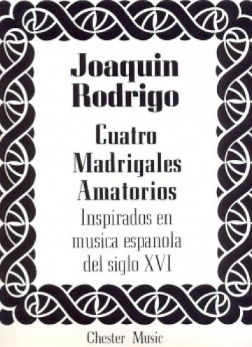 Cuatro madrigales amatorios (medium voice)