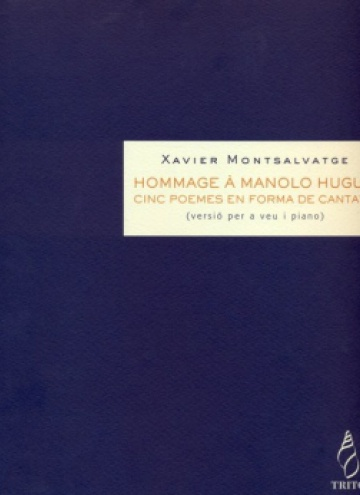 Hommage à Manolo Hugué (voice and piano)