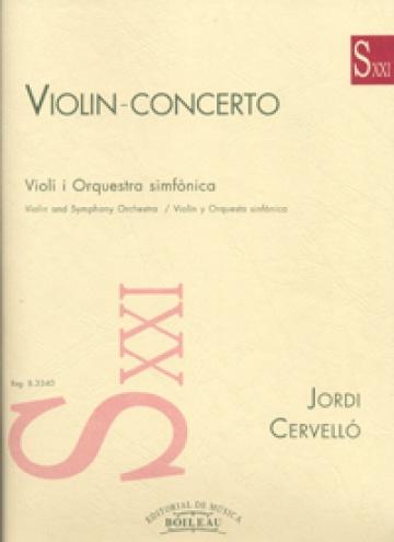 Concierto para violín y orquesta (reducc)