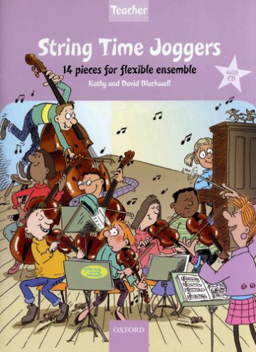 String time joggers teacher's pack (with CD)