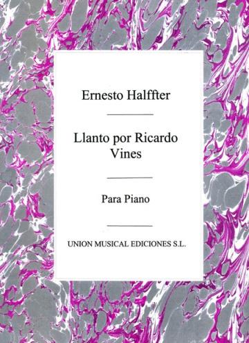 Llanto por Ricardo Viñes de la Suite Lírica