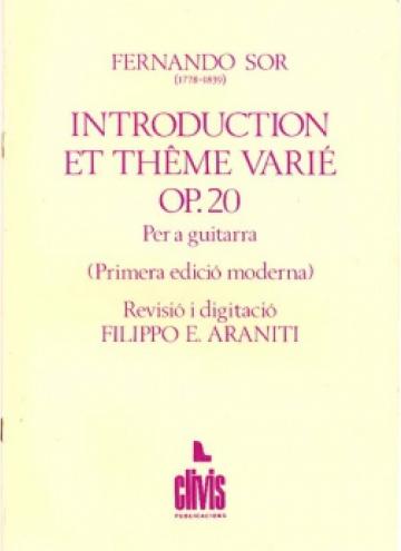 Introducció i tema variat, op. 20