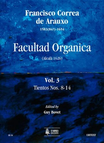 Facultad Orgánica vol. III - Tientos nº 8 - 14