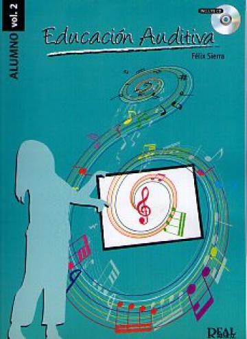 Educación auditiva vol. 2 / alumno (con CD)