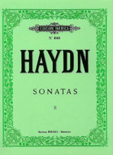 Sonatas Vol.II (11-23), de F. Joseph Haydn