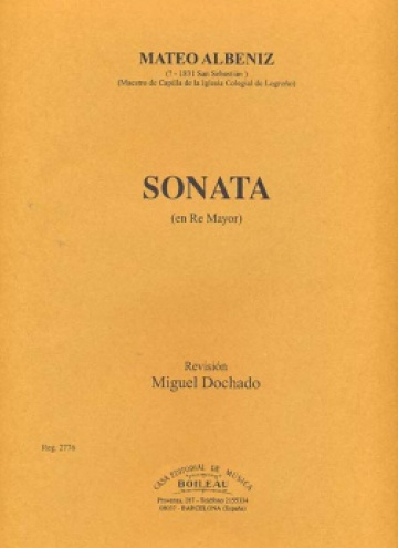 Sonata en Re mayor