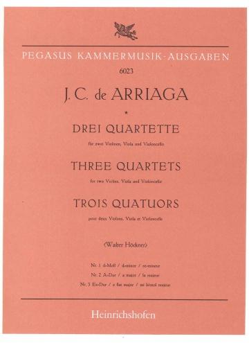 Drei Quartette (1,2 und 3)in Eb Major (parts)