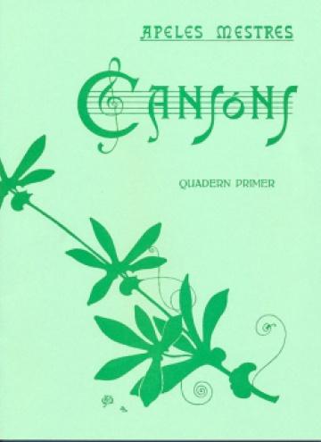 Cançons - Quadern primer