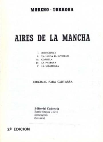 Aires de la Mancha (original para guitarra)